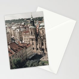 Prague Rooftop 01 Stationery Cards