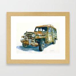 Willys Framed Art Print