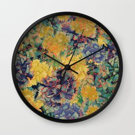 Claveles 2 Wall Clock