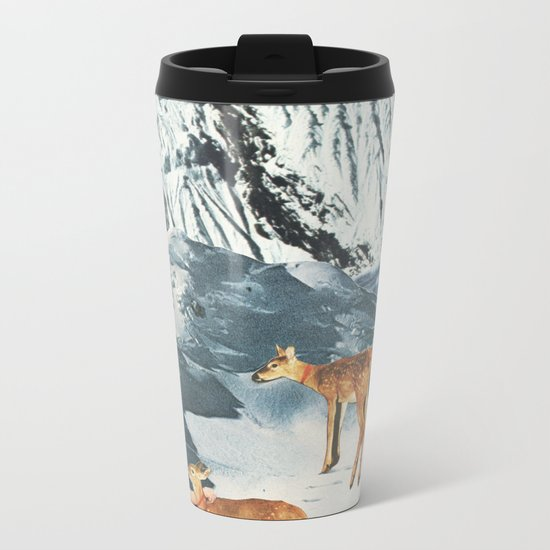 Starry Night Metal Travel Mug