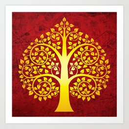 Bodhi Tree0101 Art Print