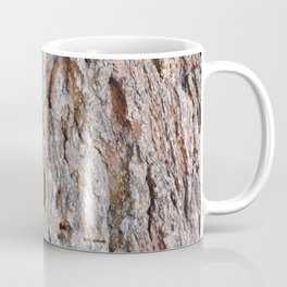 TEXTURES -- Big Cone Pine Bark Coffee Mug