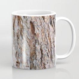 TEXTURES -- Big Cone Pine Bark Coffee Mug