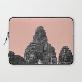 Angkor Wat with beige Laptop Sleeve