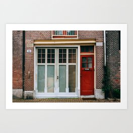 Centrum - Amsterdam, The Netherlands - #9 Art Print