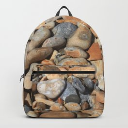 Pebbles on the beach Backpack