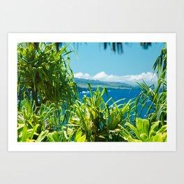 Kahanu Garden Art Print