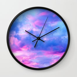 Clouds Series 3 Wall Clock