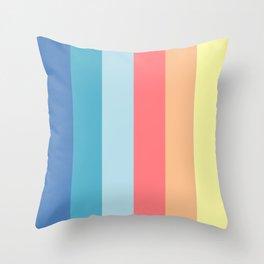 Fun Stripes - wide Throw Pillow