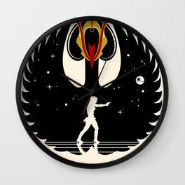 Queen Swan Wall Clock