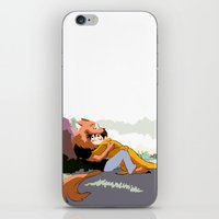 verse iPhone & iPod Skins featuring Wolf Dean verse 3 by oh, wolves