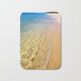 Crystal Clear - Woodgate Beach QLD Bath Mat