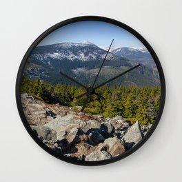 Karkonosze Wall Clock