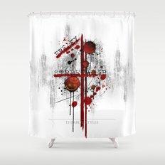 Freaky Streetw(e)ar Shower Curtain