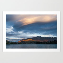 queesntown, new zealand Art Print