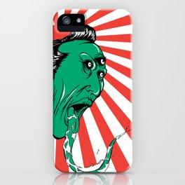 Green Yokai iPhone Case