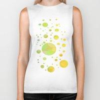 bubbles Biker Tanks featuring Bubbles by DagmarMarina