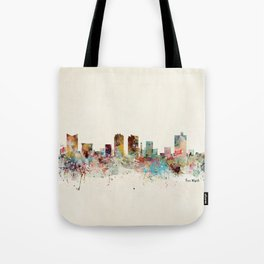 fort worth skyline Tote Bag