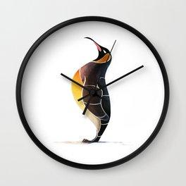 Emperor penguin Wall Clock