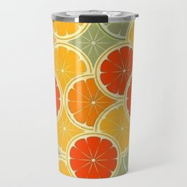 Summer Citrus Slices Travel Mug