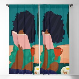 Stay Home No. 5 Blackout Curtain