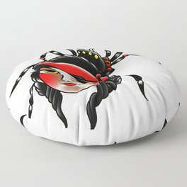 Black widow Floor Pillow