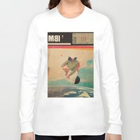 eugenia loli Long Sleeve T-shirts featuring MBI13 by Frank Moth