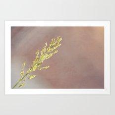 Grow. Art Print