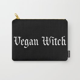 Vegan Witch Carry-All Pouch