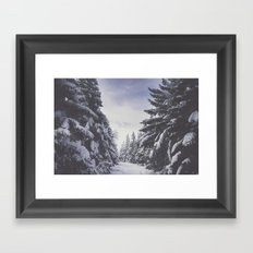 It's gonna clear up Framed Art Print