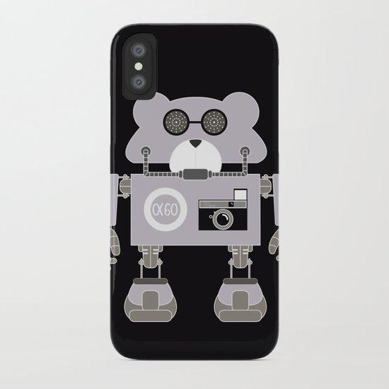 Robot Alpha 60 (Hommage à Jean-Luc Godard) iPhone Case
