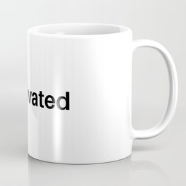 hashtag motivated Coffee Mug