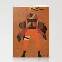 naruto Stationery Cards featuring Sage Naruto by JHTY
