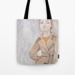 Trenchcoat Tote Bag