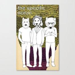 Animammals Canvas Print