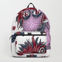limited palette dragon Backpack