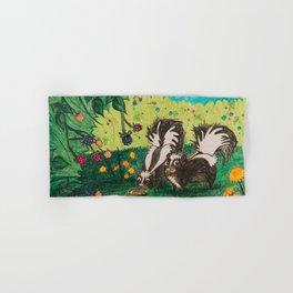 Skunk Picnic Hand & Bath Towel