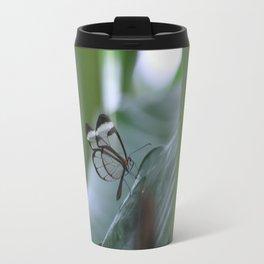 Butterfly Wings Crystal Travel Mug