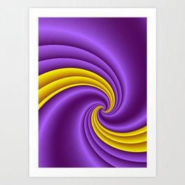fluid -60- Art Print