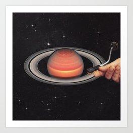 Galactic DJ Kunstdrucke