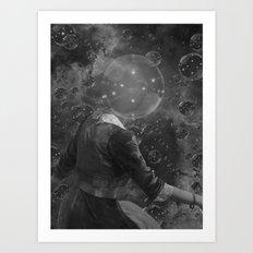BUBBLE UNIVERSE 3 Art Print