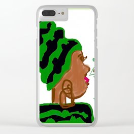 The Queen in You #2 Clear iPhone Case