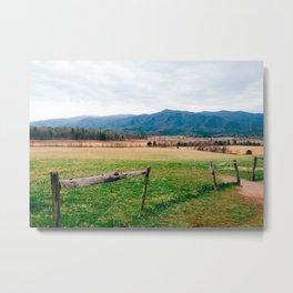 Smokey Mountains Metal Print