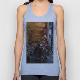 In the Wee Small Hours Unisex Tank Top