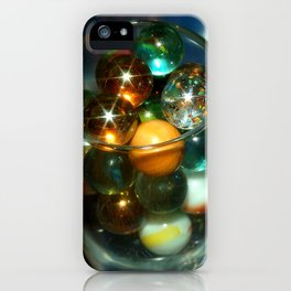 Marbles in Glass iPhone Case