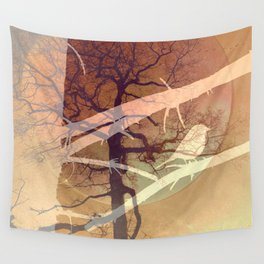Evening song Wall Tapestry