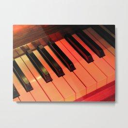 Spotlight on Piano Metal Print