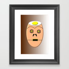 Eggy 3PO Framed Art Print