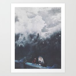 together ; Art Print