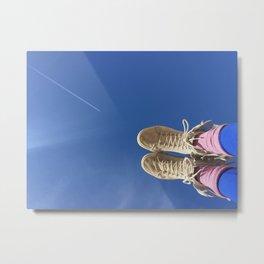 Walking on Sunshine Metal Print